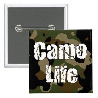 Squar Camo Life Button