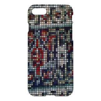 Square abstract multicolored pattern iPhone 8/7 case