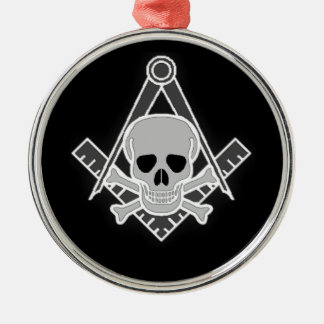 Square and Compass All Seeing Eye Christmas Ornament
