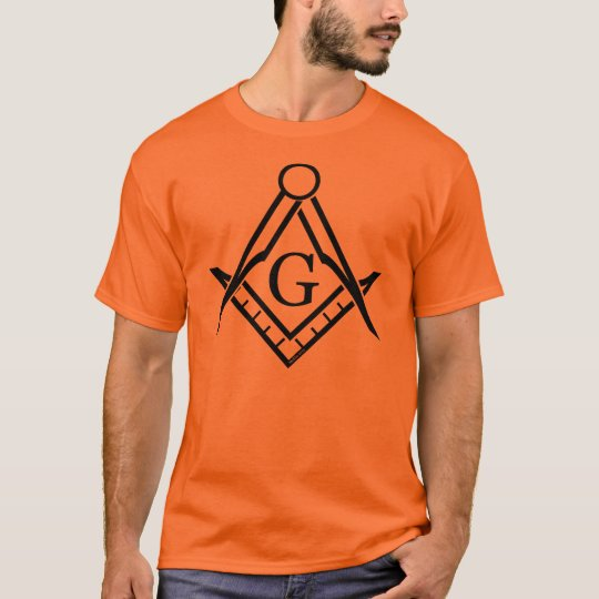 Square and Compass in Various Colours T-Shirt