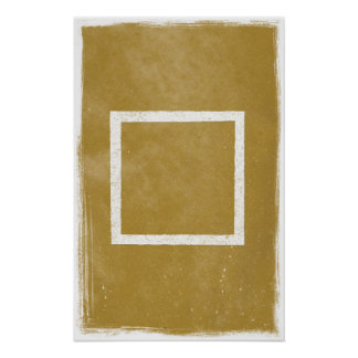 Square Art Poster