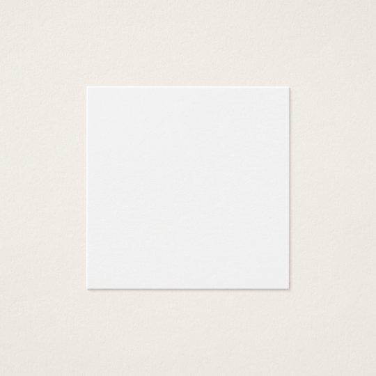 Square, 6.4 cm x 6.4 cm, Standard Matte