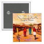 Square Button - Nigeria