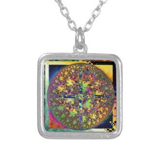 square circle pendant