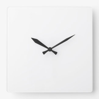 Square Clock Template