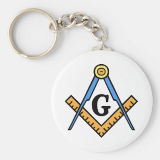 Square & Compasses Key Ring