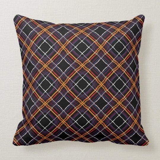 Square cushion Jimette Design red orange white