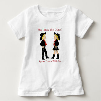 Square Dance Baby Bodysuit