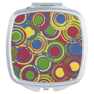 Square Dance Compact Compact Mirror