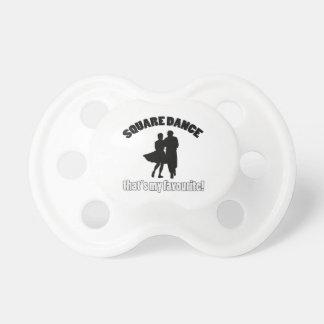 square dance designs pacifier