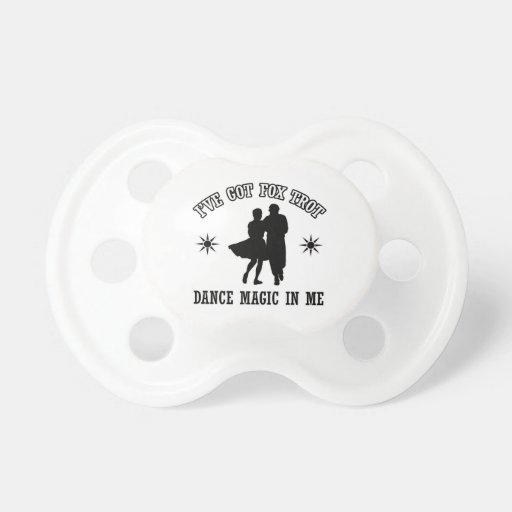 square Dance Designs Baby Pacifiers