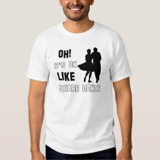 square Dance Designs Tee Shirt