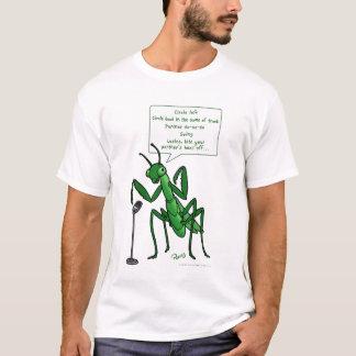 Square Dance Praying Mantis Caller T-Shirt