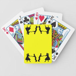 Square Dancers Poker Deck