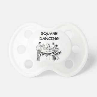 square dancing baby pacifiers