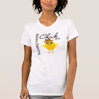 Square Dancing Chick Tee Shirt
