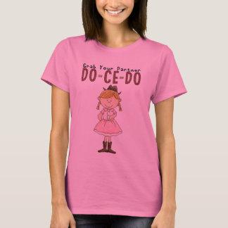 Square Dancing Cowgirl Fun T Shirt