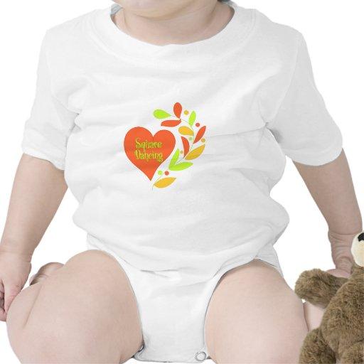 Square Dancing Heart Tshirts
