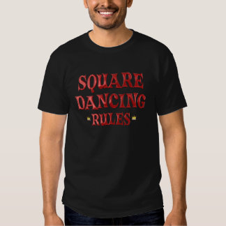 Square Dancing Rules T-shirts
