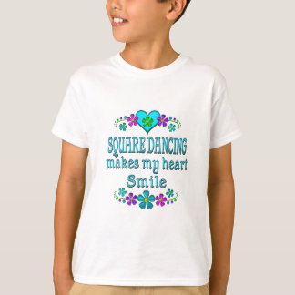 Square Dancing Smiles Tee Shirts