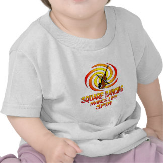 Square Dancing Spins Tee Shirts
