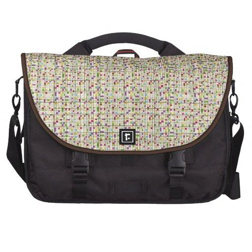 Square disorder bag for laptop