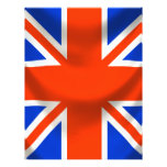square english flag personalised flyer