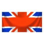 square english flag photo cards