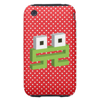 Square frog iPhone 3 tough case
