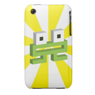 Square frog Case-Mate iPhone 3 case