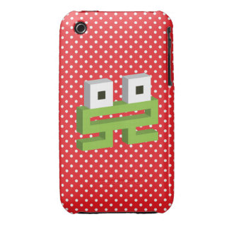 Square frog Case-Mate iPhone 3 cases