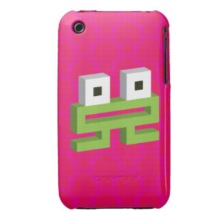 Square frog iPhone 3 Case-Mate case