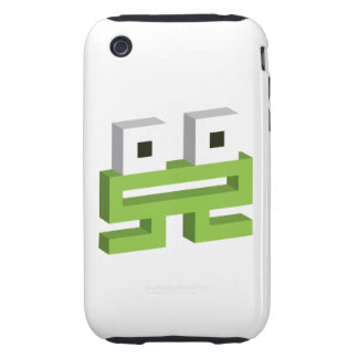 Square frog tough iPhone 3 case
