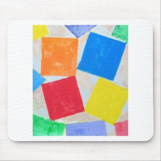 Square Gathering ( geometric expressionism ) Mousepad