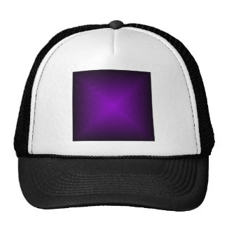 Square Gradient - Black and Violet Cap