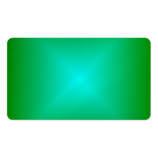 Square Gradient - Green and Cyan Business Card Templates