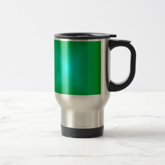 Square Gradient - Green and Cyan Mugs
