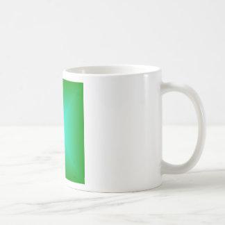 Square Gradient - Green and Cyan Mug