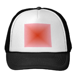 Square Gradient - Pink and Red Cap