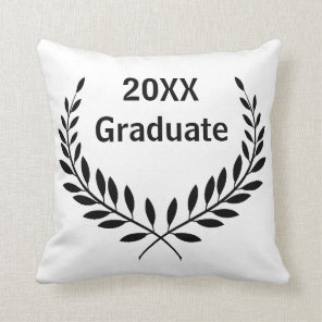 Square Graduate Date - Square Pillow