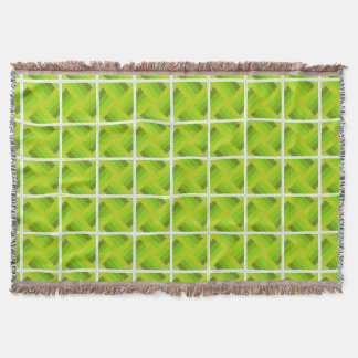 square green throw blanket