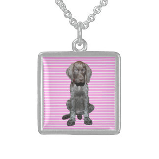 square    grizzly pink stripes.jpg personalized necklace