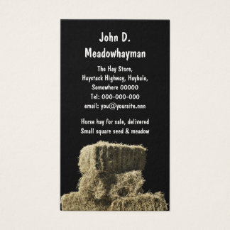 Square hay bales in a stack black background