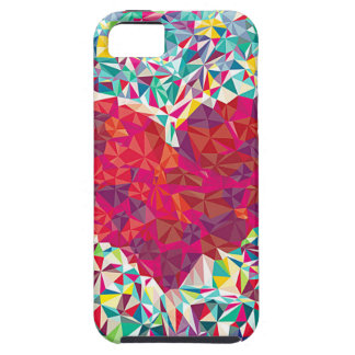 square heart - it marries - will be Iphone 5 \ 5s iPhone 5 Case
