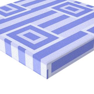 Square Lavender Wrapped Canvas