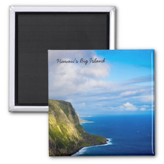 Square Magnet of Hawaii's Big Island