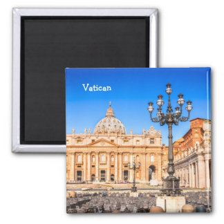 Square Magnet Vatican
