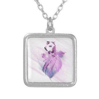 Square necklace Woman' soul