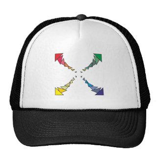 Square of triangles square triangles hat