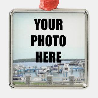 Square Ornament Photo Template